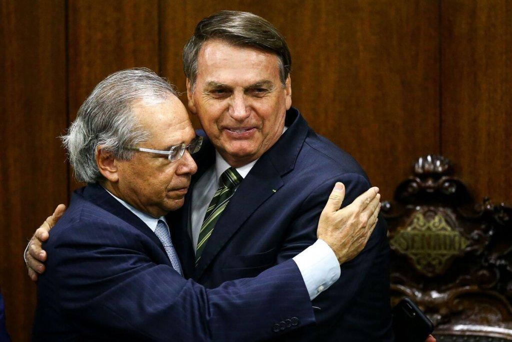 Resultado de imagem para guedes bolsonaro municipios